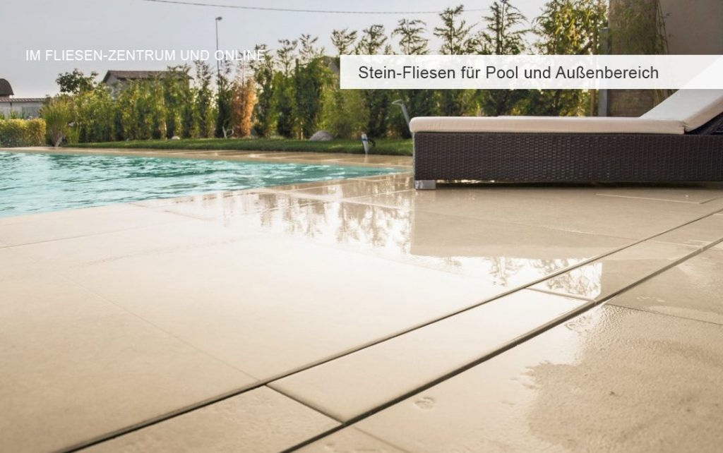 Fliesen für Terrasse, Pool und Schwimmbad